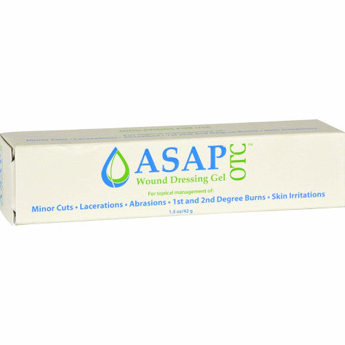 ASAP OTC Wound Dressing Gel 1.5 oz. Cuts Burns-Silver Biotics-Ur Vitamins