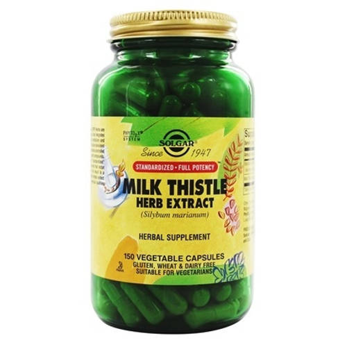 Solgar - Milk Thistle Herb Extract 150 VCaps