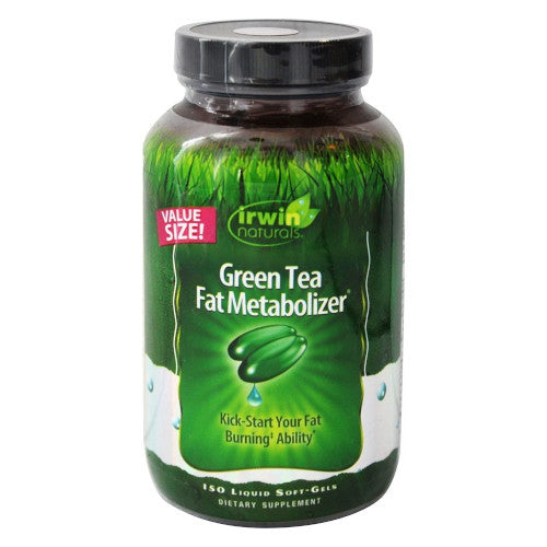 Irwin Naturals Green Tea Fat Metabolizer 150 Softgels-Irwin Naturals-Ur Vitamins