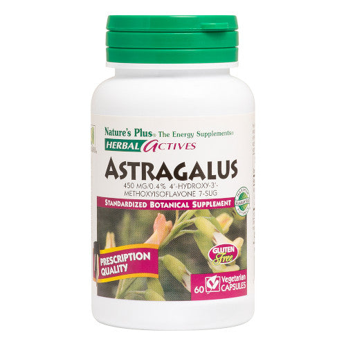 Nature's Plus Astragalus Vcaps 60-Nature's Plus-Ur Vitamins