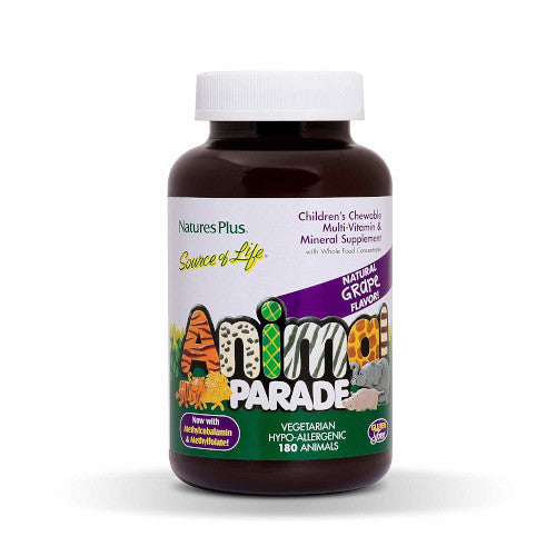 Animal Parade Children's Multi Grape 180-Nature's Plus-Ur Vitamins