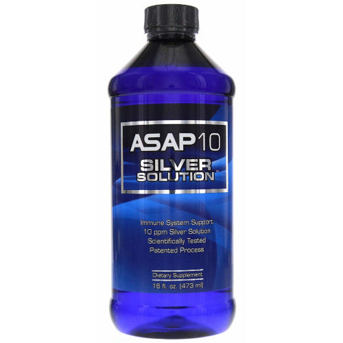 ASAP 10 PPM Silver Solution Immune System 16 oz-Silver Biotics-Ur Vitamins
