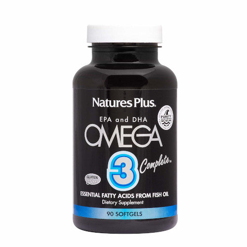Nature's Plus Omega 3 Complete Softgels 90-Nature's Plus-Ur Vitamins