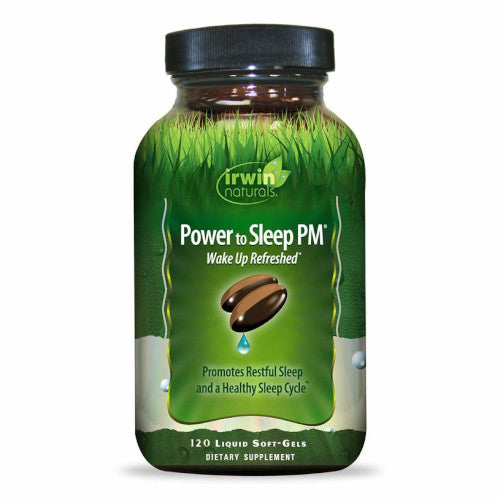 Irwin Naturals Power to Sleep PM 120 Softgels-Irwin Naturals-Ur Vitamins