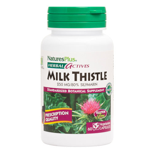 Nature's Plus Milk Thistle Vcaps 60-Nature's Plus-Ur Vitamins