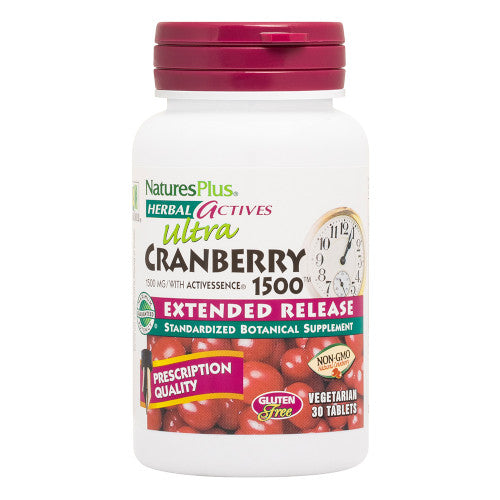 Nature's Plus Ultra Cranberry 1500Mg Tablets 30-Nature's Plus-Ur Vitamins