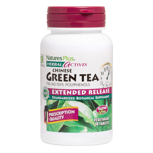 Nature's Plus Green Tea 750Mg Tab 30-Nature's Plus-Ur Vitamins