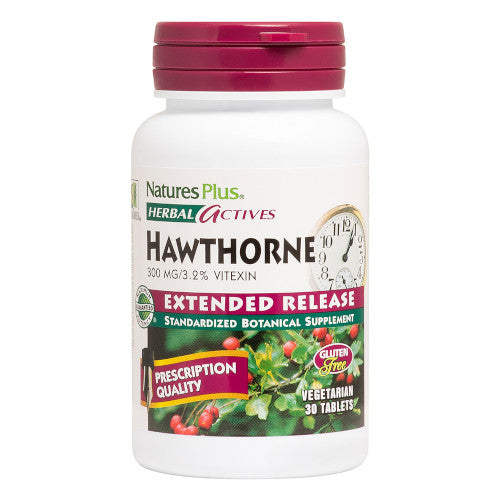 Nature's Plus Hawthorne 300 Mg 30 Tabs-Nature's Plus-Ur Vitamins