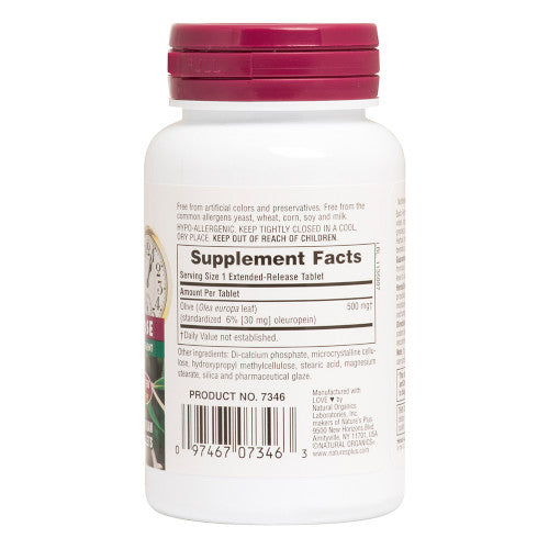 Nature's Plus Olive Leaf 500 Mg 30-Nature's Plus-Ur Vitamins