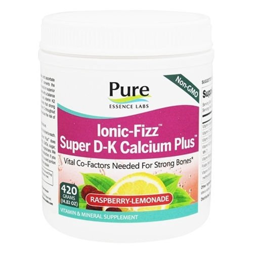 Pure Essence Labs - Ionic-Fizz Super D-K Calcium Plus Raspberry Lemonade|