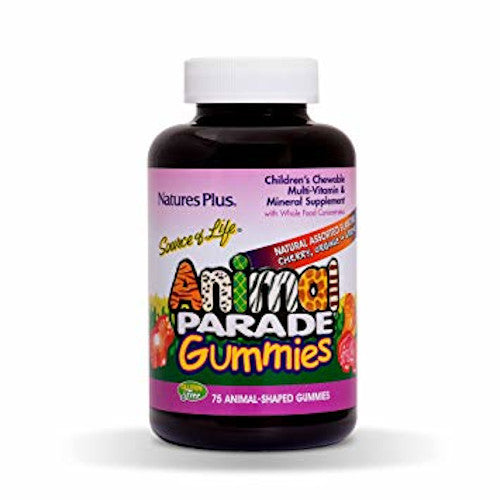 Animal Parade Gummies Assorted 75-Nature's Plus-Ur Vitamins