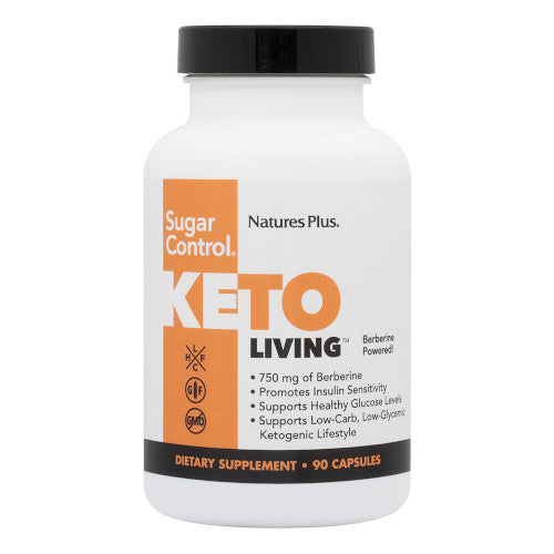 Keto Living Sugar Control 90 Vcaps-Nature's Plus-Ur Vitamins