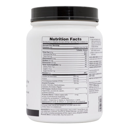 KetoLiving Vanilla Shake 1.27lbs-Nature's Plus-Ur Vitamins