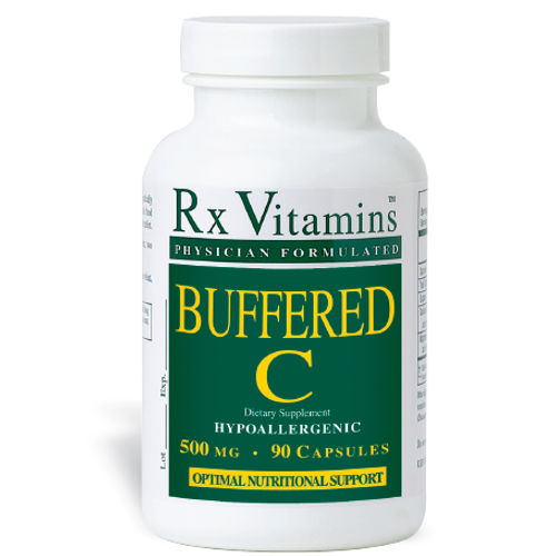 Rx Vitamins Buffered C 500 mg 90 Caps|||