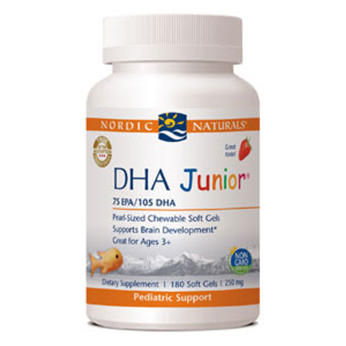 Nordic Naturals - DHA Junior Strawberry 180 Softgels||Megafood - Tension Release - 60 Tablets