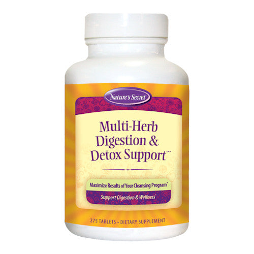 Nature's Secret Multi Herb Digestion & Detox Support 275 Tabs-Nature's Secret-Ur Vitamins