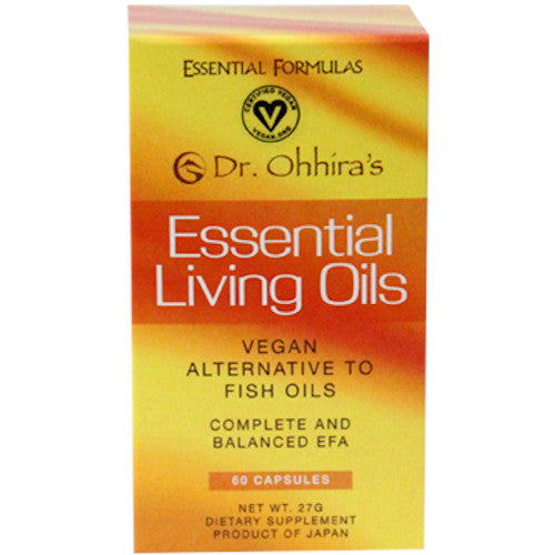 Dr. Ohhira's Essential Living Oils 60 Gels