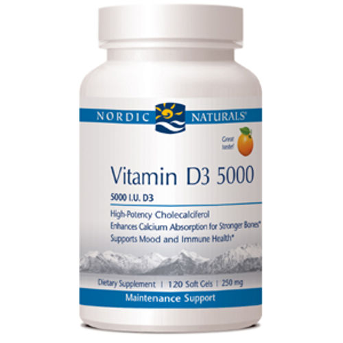 Nordic Naturals - Vitamin D3 5000 IU 120 Softgels|Megafood - Wild Blueberry - 90 Tablets||