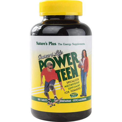 Source Of Life Power Teen Multivitamin 180 Tablets-Ur Vitamins
