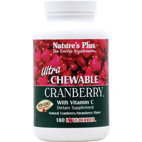 Nature's Plus Ultra Cranberry Chewable 180-Nature's Plus-Ur Vitamins