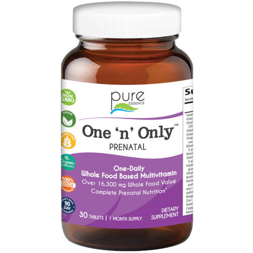 Pure Essence One 'n' Only PreNatal 30 Tabs