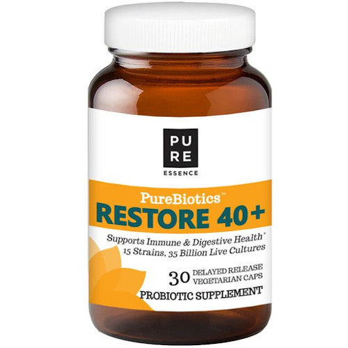 Pure Essence PureBiotics Restore 40+ 30 VCaps