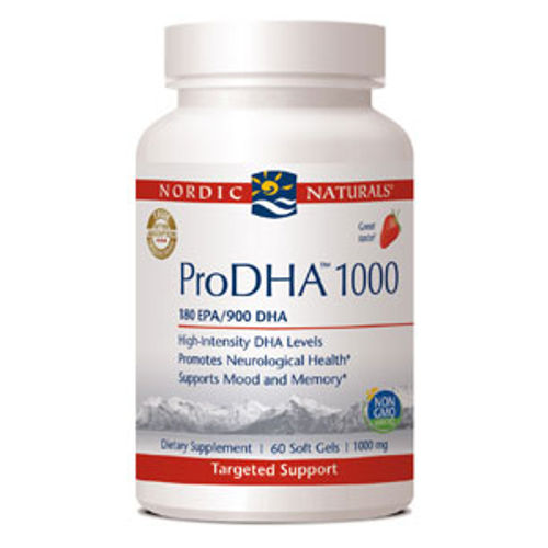 Nordic Naturals - ProDHA 1000 Strawberry 60 softgels|NutriGold - Vitamin D3 Gold 2,500 Vegan 60 VCaps||NutriGold - St. John's Wort Gold 300 mg 90 VCaps