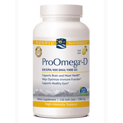 Nordic Naturals - ProOmega-D Lemon 1000 mg 120 Softgels||New Chapter - Every Man One Daily 96 Tabs