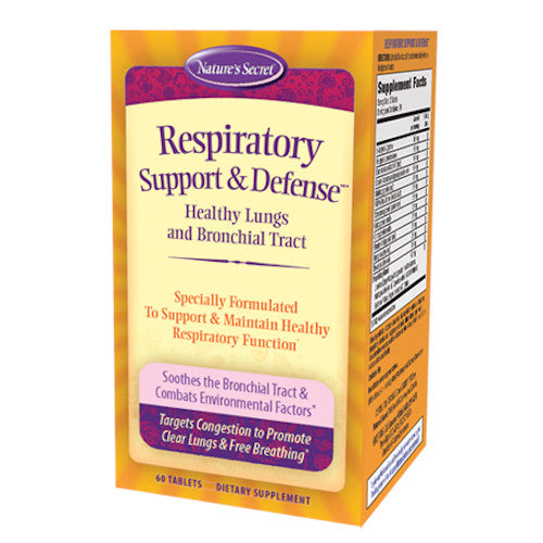 Nature's Secret Respiratory Support & Defense 60 Tabs-Nature's Secret-Ur Vitamins