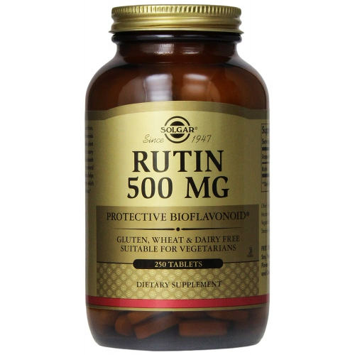Solgar - Rutin 500 mg 250 Tablets