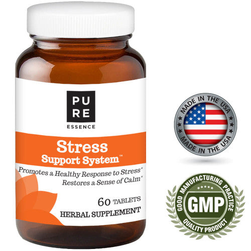 Pure Essence Stress Support System 60 Tablets