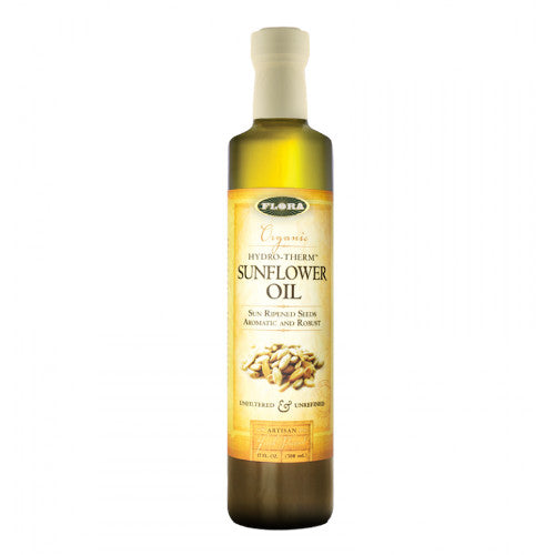 Flora Sunflower Oil Organic Hydro-Therm 17 oz