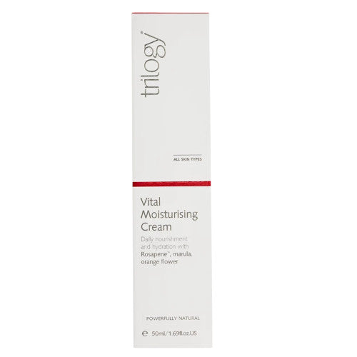Trilogy Vital Moisturising Cream 50ml-Trilogy-Ur Vitamins