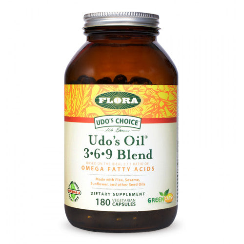 Udo's Choice Udo's Oil 3 6 9 Blend 180 VCaps