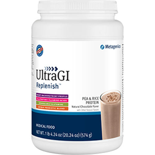 Metagenics UltraGI Replenish Chocolate 20.24 oz|