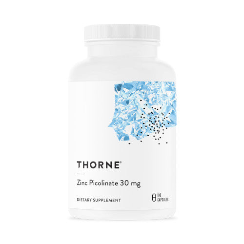 Thorne Zinc Picolinate 30 mg 180 VCaps