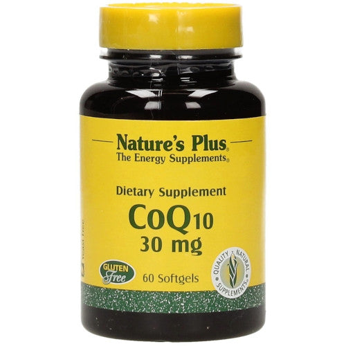 Nature's Plus Coenzyme Q10 30 Mg Softgels-Nature's Plus-Ur Vitamins