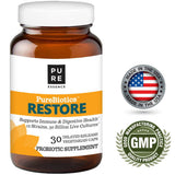 Pure Essence PureBiotics Restore 30 VCaps