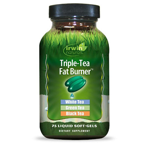 Irwin Naturals Triple Tea Fat Burner 75 Softgels-Irwin Naturals-Ur Vitamins