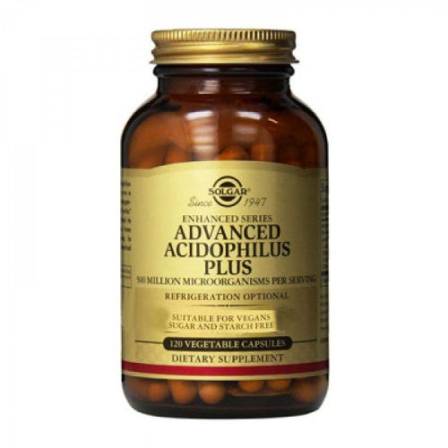 Solgar - Advanced Acidophilus Plus 120 VCap|Solgar - Advanced Acidophilus Plus 120 VCap