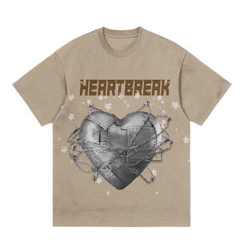Heartbreak Tee - Tan
