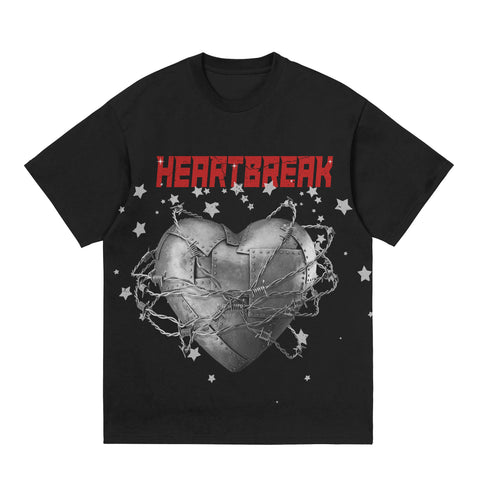 Heartbreak Tee - Black