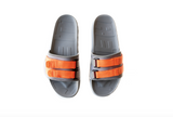 Retro Vert Slides Interchangeable - Triple Grey