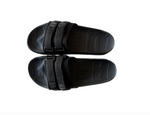 Retro Vert Slides Interchangeable - Triple Black