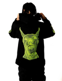 Green Doberman Full-Zip Hoodie - Medium Weight