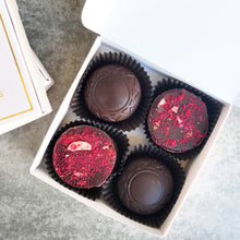 Load image into Gallery viewer, Raspberry Almond Ganache Truffles