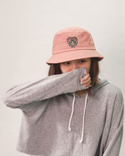 Load image into Gallery viewer, FINGERS CROSSED BLUSH bucket hat