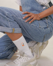 Load image into Gallery viewer, FCS EVERYDAY: RISE Crew Socks (White)
