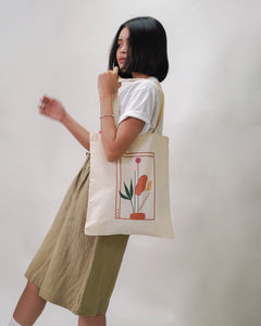 FCS EVERYDAY: RISE Canvas Tote Bag (Off White)