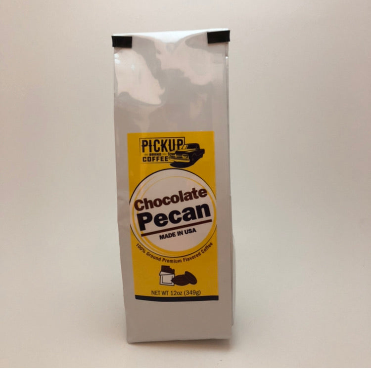 Chocolate Pecan 12oz bag ground coffee